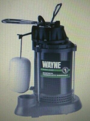 New Wayne 12 Hp 4300 Gal Per Hr Epoxy Coated Thermoplastic Reinforced Sub Pump