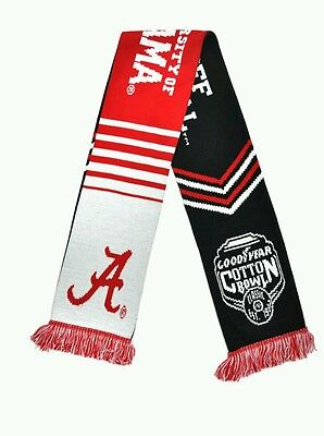 University Of Alabama 2015  2016 Cotton Bowl Scarf  Cfp College Football Playoff