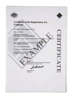 Company Registered Companies Pty Ltd for sale Tax losses carried