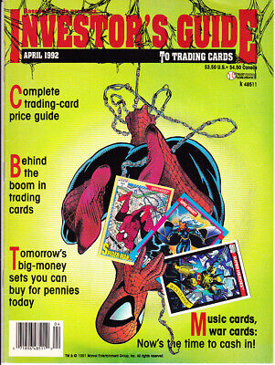 Investor's Guide to Trading Cards April 1992 3rd Issue: Non-Sports Price Guide