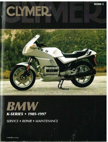 BMW K75 C/S/RT , K100 RS/RT/LT , K1100 RS/LT & K1 1985-1997 OWNERS REPAIR MANUAL