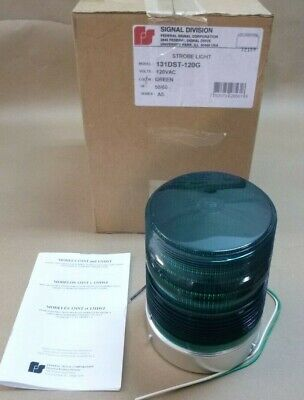 Federal Signal 131dst-120g Green Starfire Warning Strobe Light 12npt 120vac