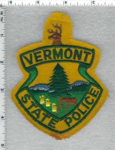 State Police (Vermont) FELT Uniform Take-Off Shoulder Patch - RARE