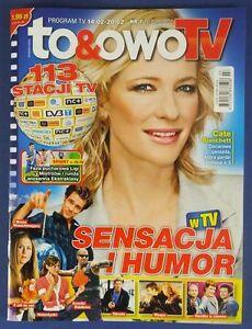 CATE BLANCHETT mag.FRONT cover Poland Gerard Butler,Jim Carrey,Meryl Streep - europe, Polska - Zwroty są przyjmowane - europe, Polska