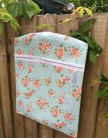 .home Made Extra Large Peg Bag Oil Cloth Roses>><< - extra - ebay.co.uk