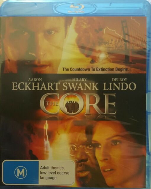 *Brand New & Sealed* The Core (Blu-ray movie) Hillary Swank, Aaron Eckhart