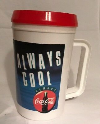 Vintage Coca Cola Polar Bear Always Cool Super Thermo