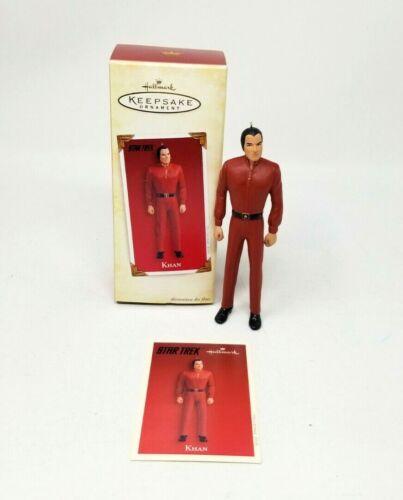 Hallmark Keepsake Figure Ornament 2005 Star Trek Wrath of Khan Holiday Card New