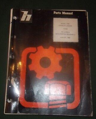 International Dresser 175c Crawler Loader Parts Manual Book Catalog Original Oem