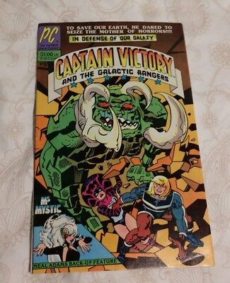 Captain Victory and the Galactic Rangers #3 1982 Pacific Comics