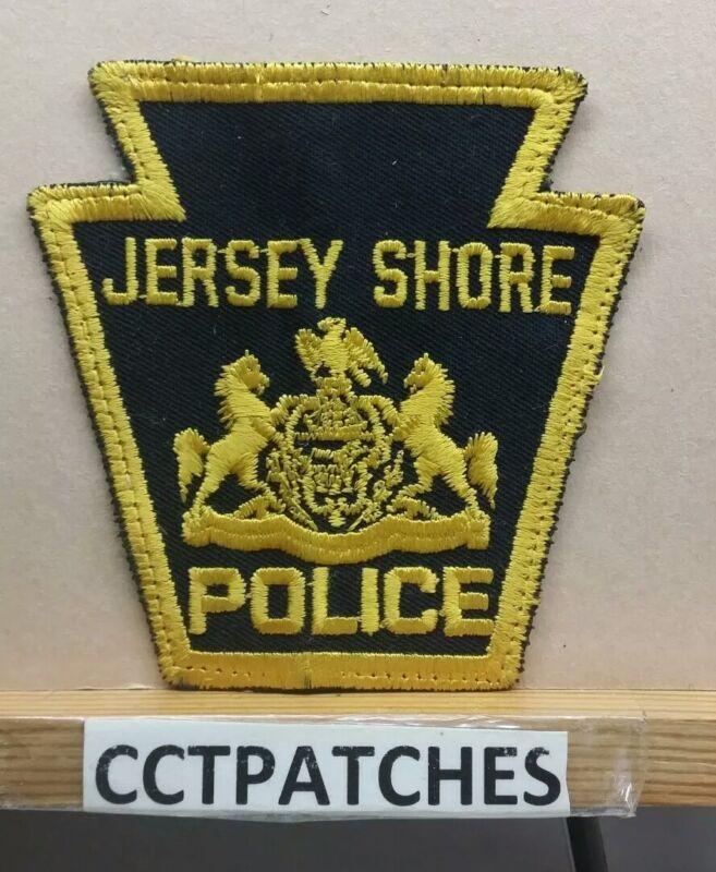 JERSEY SHORE, PENNSYLVANIA POLICE (KEYSTONE) SHOULDER PATCH PA