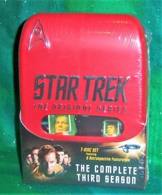 Complete Third Series Dvd - NEW STAR TREK ORIGINAL SERIES COMPLETE THIRD 3RD SEASON THREE TV 7 DISC DVD 1968