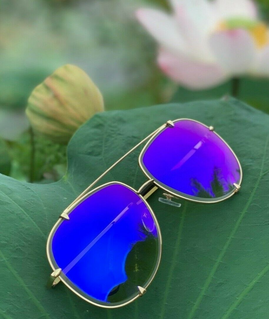2674180808 Big Aviator XXL Talon OVERSIZED Metal Gradient Women Sunglasses Shadz GAFAS