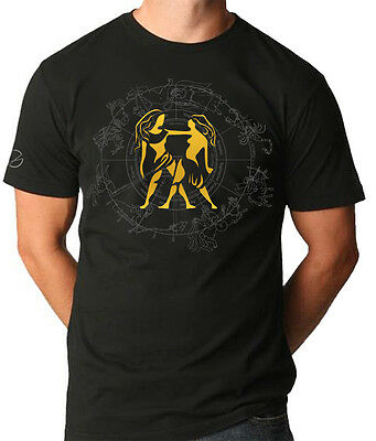 - GEMINI STAR SIGN with ZODIAC MOON Cool T shirt by VKG
