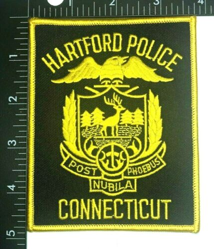 HARTFORD CONNECTICUT POLICE DEPARTMENT PATCH (PD 9) SHOULDER SLEEVE INSIGNIA