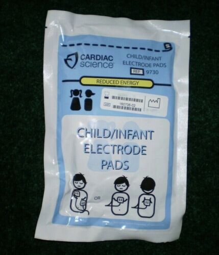 Cardiac Science Powerheart G3 child AED Pads (Electrodes)  TRAINING