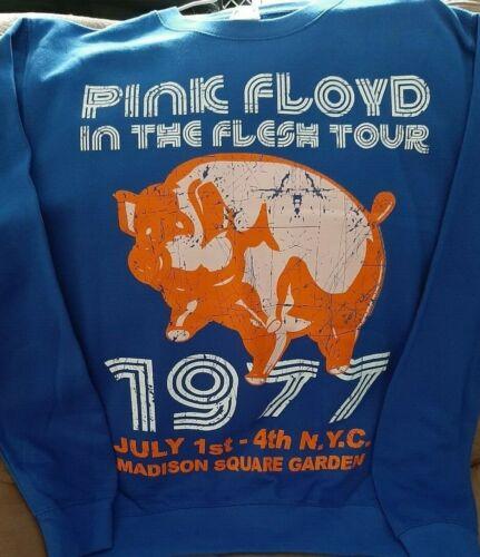 Pink Floyd -In The Flesh 1977 Tour Retro Crewneck Pullover Sweatshirt Size M