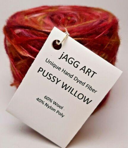 Pussy Willow Thick and Thin Merino Nylon Aran