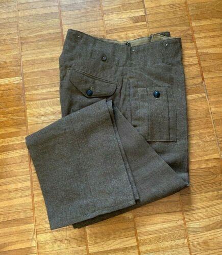 WW2 Period 1945 dated 1940 Pattern Battledress Trousers Size 16