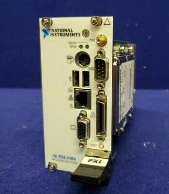 National Instruments Ni Pxi-8184 Embedded Controller Celeron 850 Os Xp