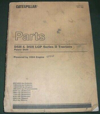 Cat Caterpillar D5h D5h Lgp Ii Crawler Tractor Dozer Parts Manual 8rc 1dd