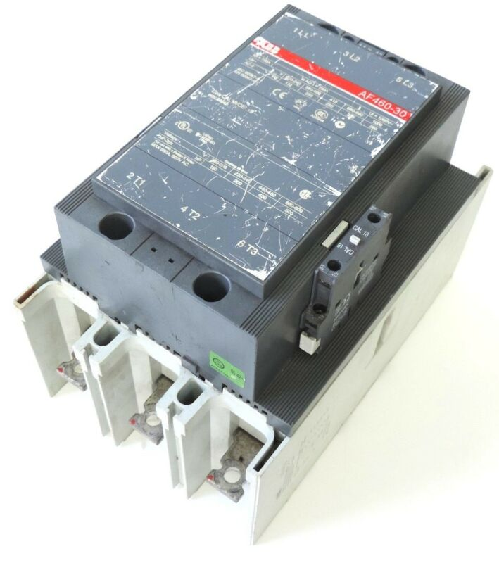 ABB ASEA BROWN BOVERI AF460-30 CONTACTOR 700AMP 3POLE 100-250VDC
