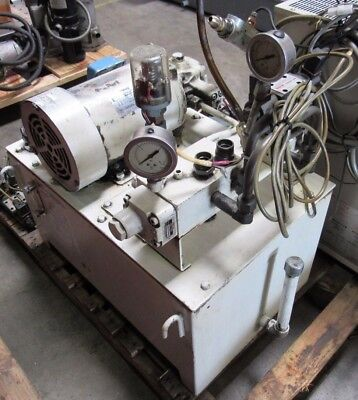 Nachi Hydraulic Power Unit Removed From Kitamura Mycenter H400