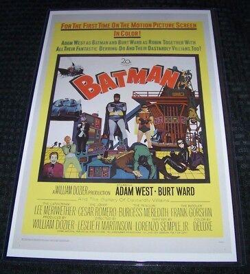 Batman the Movie 1966 11X17 Movie Poster Ward West Merriwether Gorshin - 1966 Batman Movie Poster