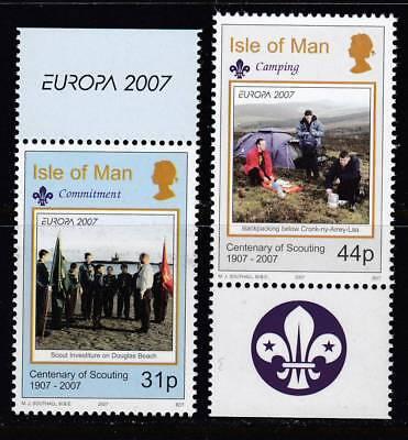 Isle of Man 2007. Europa. 2 v. MNH