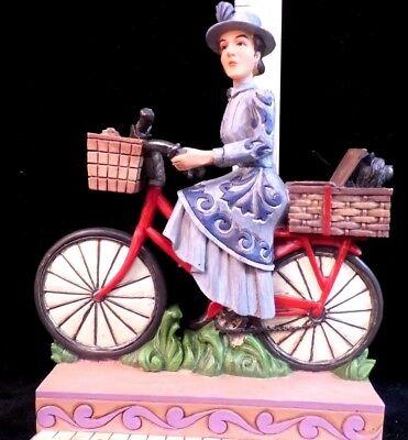 RARE Wizard of Oz Figurine~GROUCHY MISS GULCH~by Jim Shore~on bicycle & - Miss Gulch Wizard Of Oz