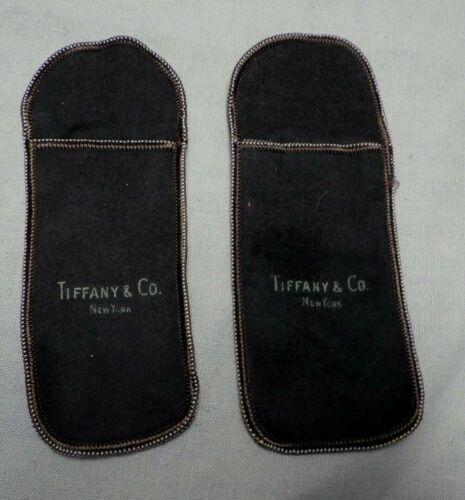 2 Tiffany Pacific Silvercloth Storage Bags Anti Tarnish For Silver