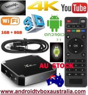 NEW 1GB/8GB X96 mini S905W Kodi Smart TV Box 4K Android 7.1.2