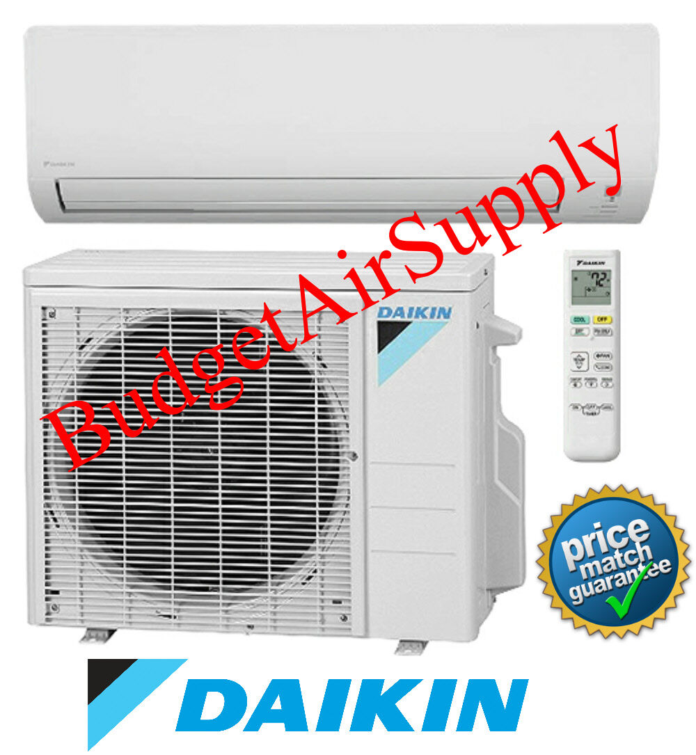 DAIKIN 19 SEER 9K Ductless Mini Split 9000 Btu Heat Pump RX0
