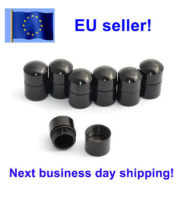Magnetic nano cache container for geocaching, Black, Europe, Geocache EU (Cache Geocache Geocaching Container)