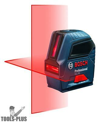 Bosch Gll50-rt Self-leveling Cross-line Laser Kit Factory Mfr Refurbished