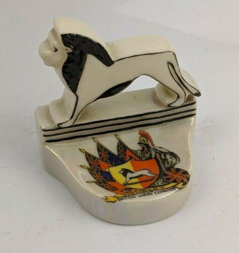 Wembley 1924 British Empire Exhibition Crested China Pin tray by Carlton Rare