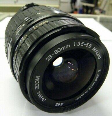 Sigma Zoom Macro AF 28-80mm f/3.5-5.6 Aspherical Lens For Canon XTi EF Mount