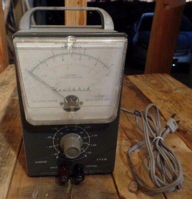 Heathkit Av-3 Audio Vtvm Test Meter