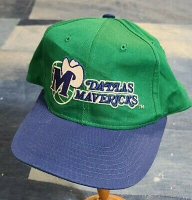 Vintage 90s Starter Dallas Mavericks NBA Basketball Snapback sports hat cap