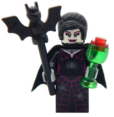 NEW LEGO FEMALE VAMPIRE halloween figure monster count dracula minifig countess - Lego Halloween Vampires