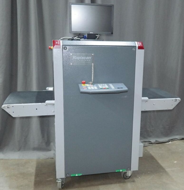 RAPISCAN 618XR COMPACT X-RAY BAGGAGE AND PACKAGE INSPECTION SYSTEM-=WORKING=-