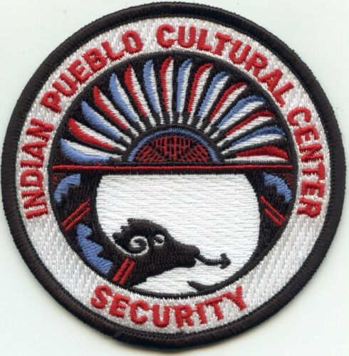 INDIAN PUEBLO CULTURAL Albuquerque NEW MEXICO NM TRIBAL SECURITY police PATCH