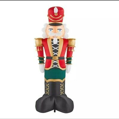 8 FT. GIANT-SIZED LED NUTCRACKER CHRISTMAS HOLIDAY INFLATABLES INDOOR/OUTDOOR