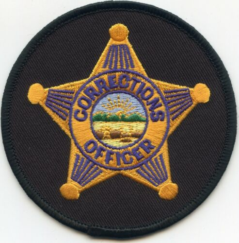 OHIO OH round gold star DOC CORRECTIONS sheriff police PATCH
