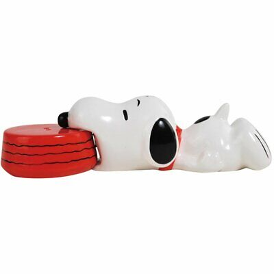 Snoopy Magnetic Ceramic Salt and Pepper Shaker -