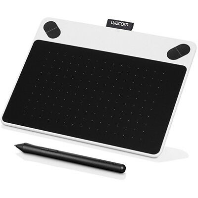 Wacom Intuos Draw Creative Pen Tablet - Small White (CTL490DW)