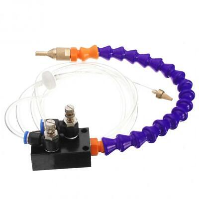 Mist Coolant Lubrication Spray System Fit 8mm Air Pipe Cnc Lathe Mill Drill Us