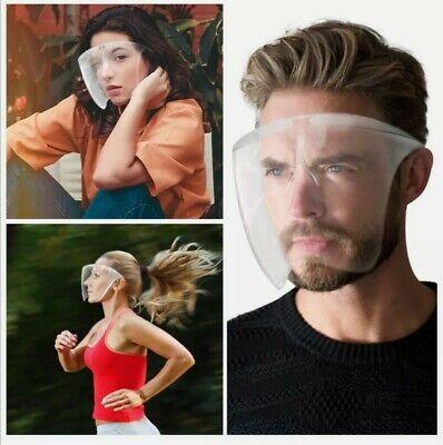 Face Shield Brille Schutzvisier Gesichtsschutz Visier Anti-Spuck Gesichtsvisier
