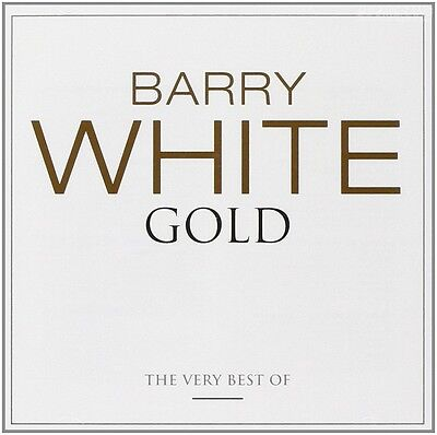 BARRY WHITE Gold 2CD BRAND NEW Best Of Greatest