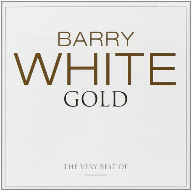 BARRY WHITE Gold 2CD BRAND NEW Best Of Greatest Hits